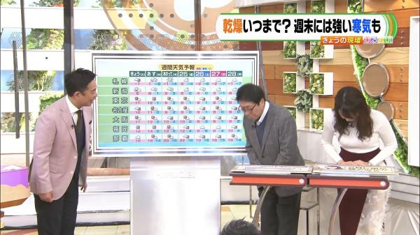 【画像】宇垣美里アナの最新ニットお●ぱいがエチエチすぎる