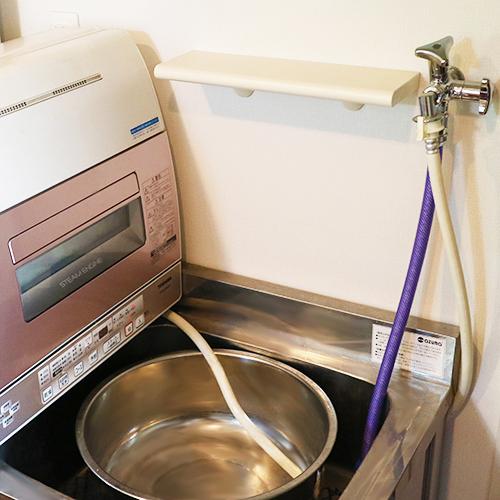 水道の増設 ~卓上食器洗い乾燥機~③