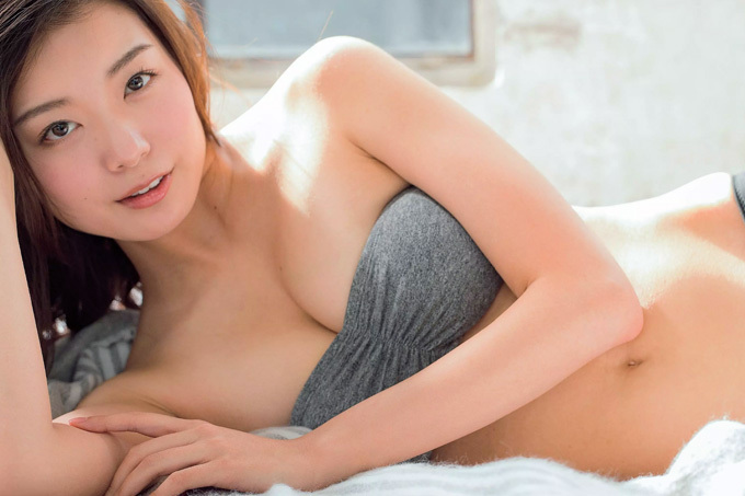 【蜂谷晏海】美しいスタイルの水着姿を解禁【サッポロビールイメージガール】