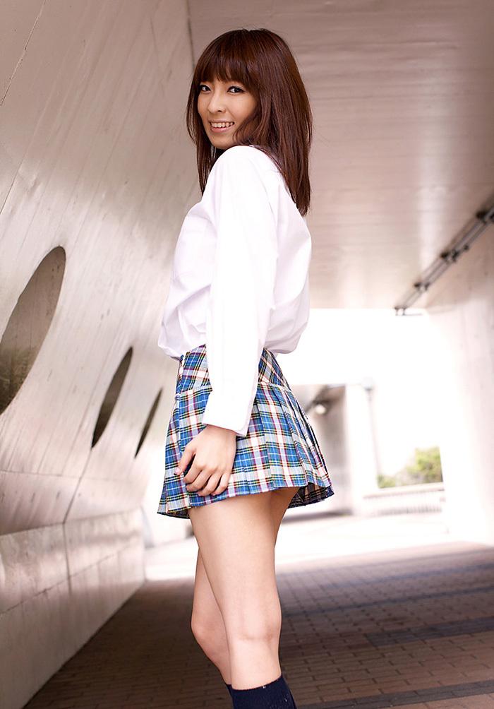 ましろ杏 制服 コスプレ エロ画像 2