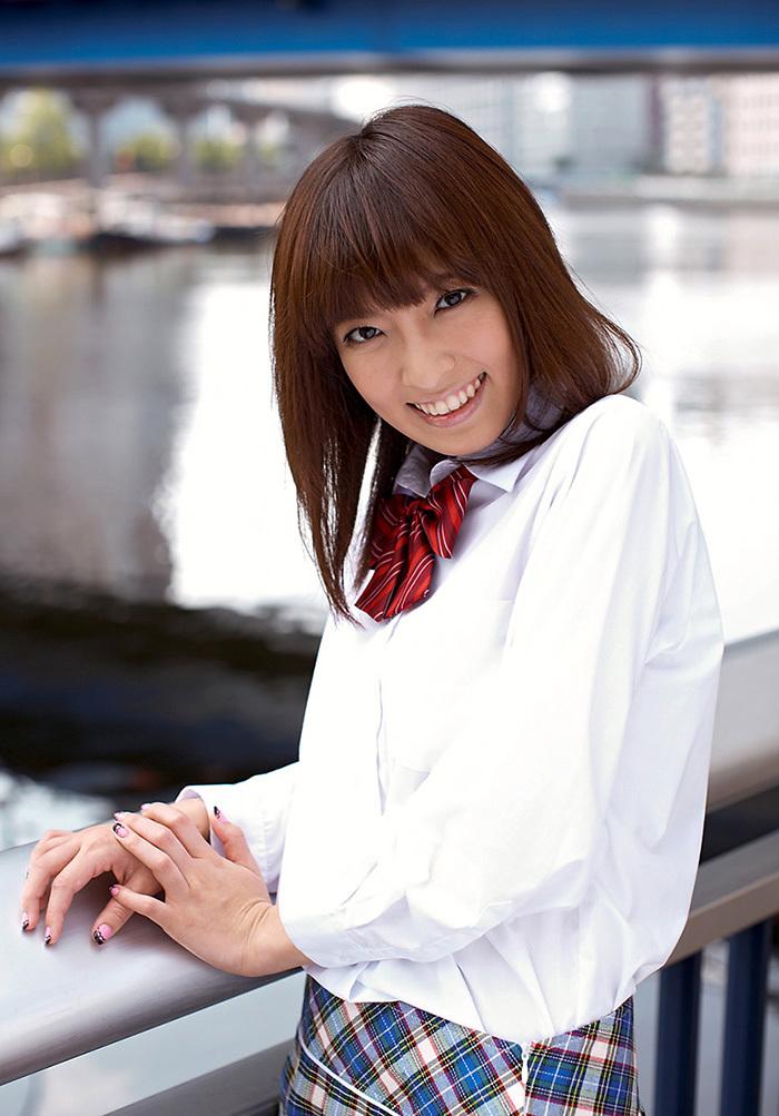 ましろ杏 制服 コスプレ エロ画像 4