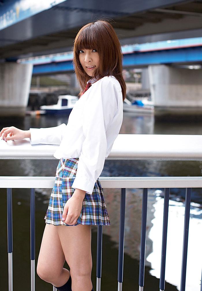 ましろ杏 制服 コスプレ エロ画像 6