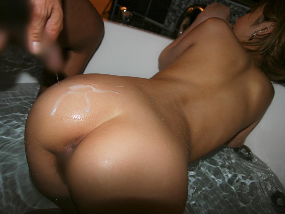 尻射 ぶっかけ セックス エロ画像 20
