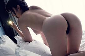 水野朝陽 日本一エロいヒップ…媚尻。
