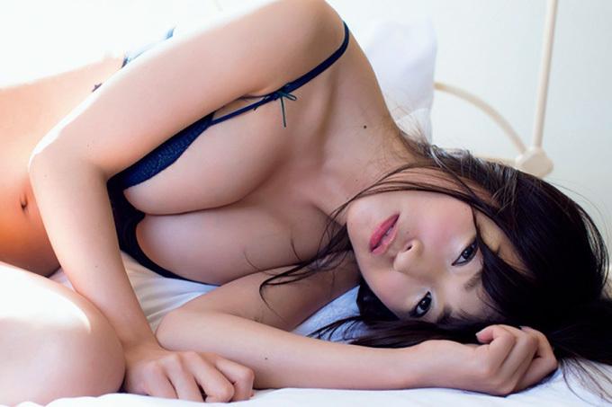 【☆HOSHINO】今ドキの巨乳系女子大生【グラビア】