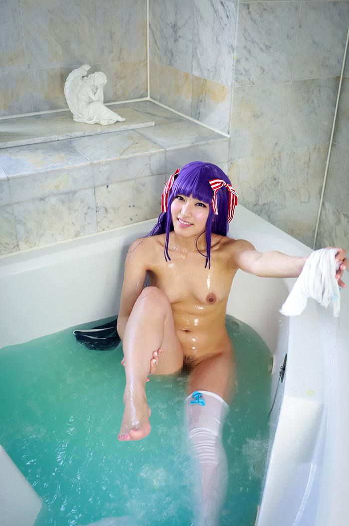 由愛可奈 スクール水着 コスプレ エロ画像 35