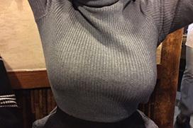 乳の暴力こと着衣おっぱいのエロ画像 part23