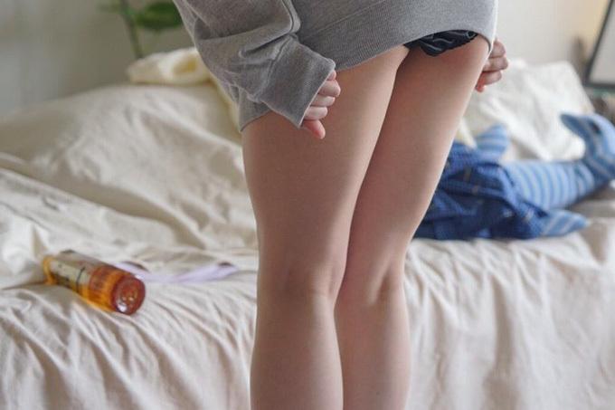 【ふともも】女子の極上ムチムチ腿肉【エロ画像】