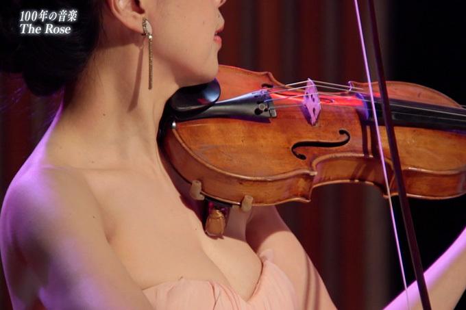 【巨乳バイオリニスト】過去最高のハミ乳【川井郁子】