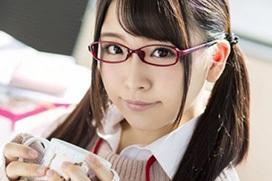 加藤ももか、メガネも似合う可愛い女子社員が痙攣しながら中出しSEX