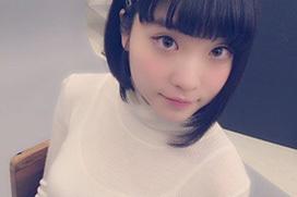臨時加入してでんぱ組のおっぱい要員となった根本凪(19)