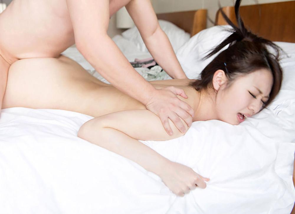 寝バック セックス エロ画像 19