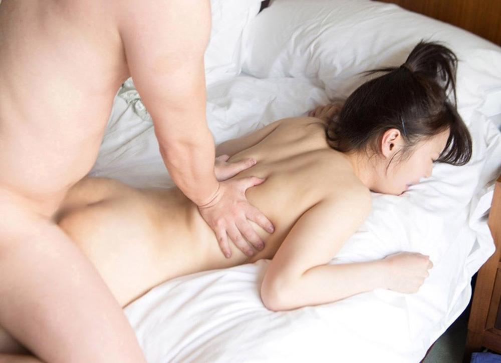 寝バック セックス エロ画像 33