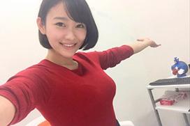 西野翔(30)の自撮りが可愛くてAV女優に見えない