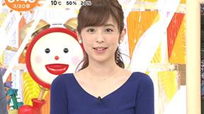 クジパン久慈暁子アナのお胸がパンパンになってきたンゴねえwww