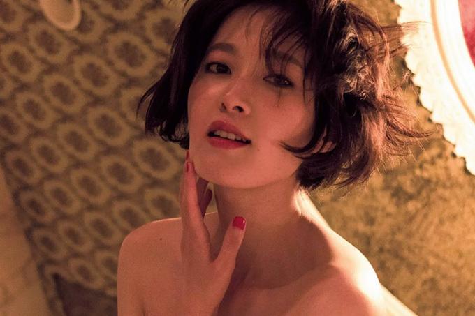 【中丸シオン】淫らに美しいヘアヌード【女優】
