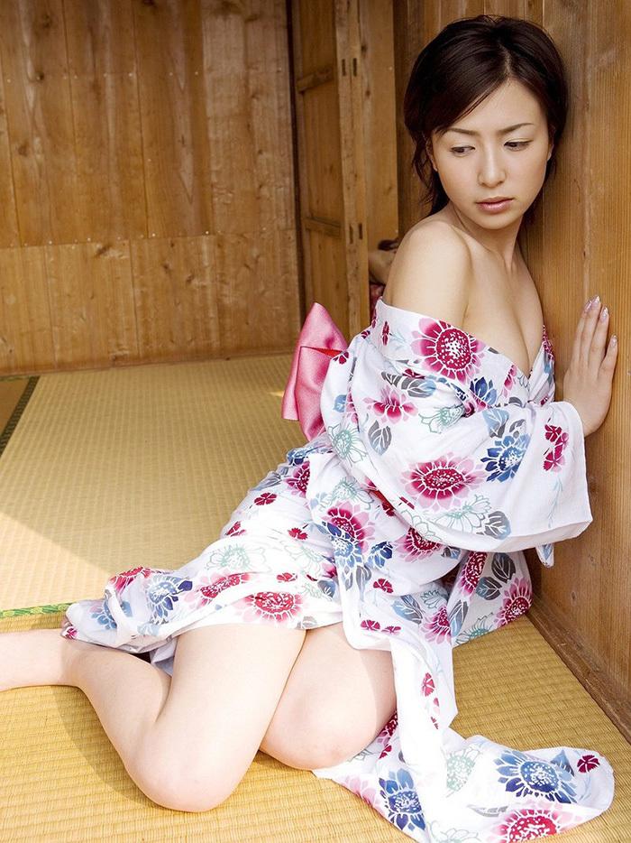 浴衣 エロ画像 14