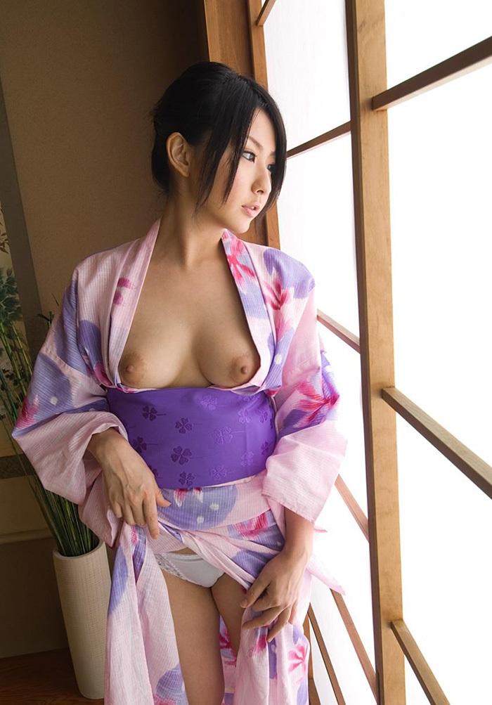 浴衣 エロ画像 16