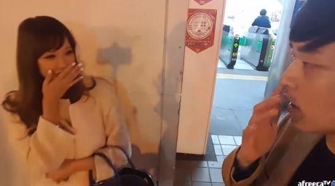 A●女優・RION、ユーチューバーにナンパされ個人情報を喋ってしまう!本名、連絡先交換