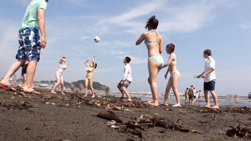 夏を100%楽しんでる大学生www海の家で乱パしてる奴らの画像wwwwww