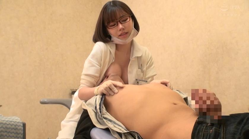 女歯科助手が治療中におっぱい当ててきて…妄想炸裂→SEXへwww痛いの我慢したら気持ち良いことしてもらえるwwww