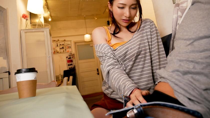 吉川蓮がバイトするカフェでエロハプニング多発→閉店後にセックスまでいけるとかまじかよ…