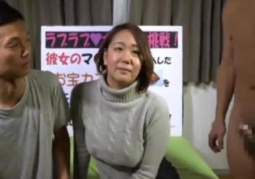 リア充夫婦ターゲットにゲーム企画で罰ゲームに持ち込み旦那の前でムチムチ奥さん寝取り生中出し!