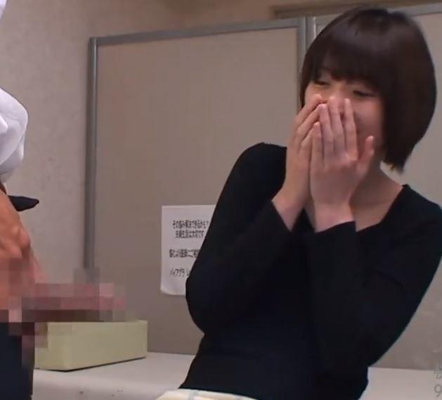 (ヒトヅマムービー)《ヒトヅマ》えぇ嘘でしょ☆見たことのないビックマラに感情を高ぶらせる☆