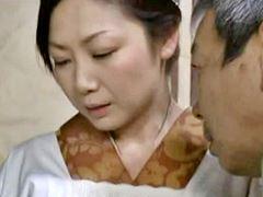 【ヘンリー塚本】主には逆らえず股を開く熟侍女沢村麻耶