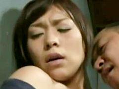 【ヘンリー塚本】ビンタされレ〇プされるも感じてしまうオバさん 中森玲子