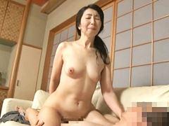 【五十路】若い男との姦淫に溺れる完熟主婦 楠由賀子