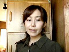 【ヘンリー塚本】主人を亡くした中年女は他人棒で慰める 葵紫穂