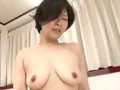【五十路】年下の青年と生ハメ本気セックスをする完熟主婦安西淳美