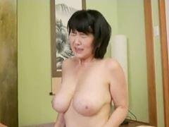 【五十路】デカパイを揺らして生ハメSEXに昇天する主婦 上島美都子