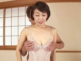 【五十路】歯を剥き出しにしてマジイキする夫人③ 中洲瑞江