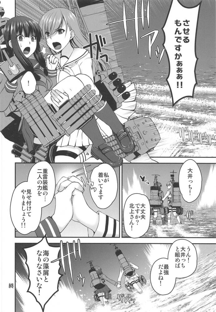 大井「提督…私に北上さんをもっと感じさせて下さい」