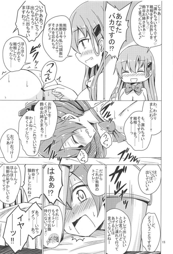鈴谷「ごめん……熊野……私のせいで……」