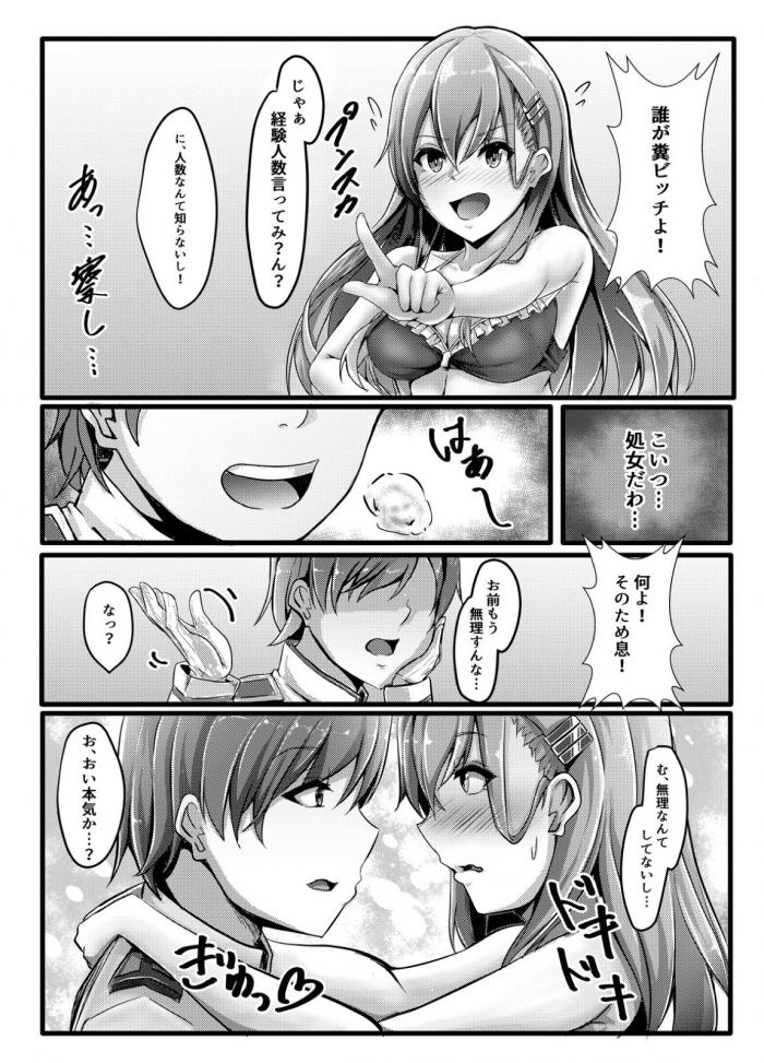 鈴谷「処女違いますー!たくさん経験済みだしぃ」