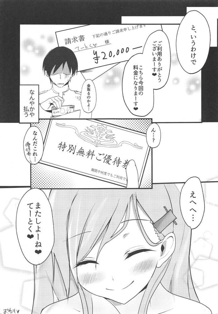鈴谷「せっかく提督のために準備して待ってたのに…ッ!!」