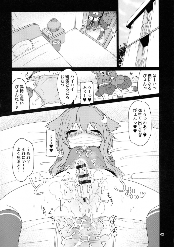 卯月「うーちゃんが弥生のおちんぽを管理するぴょん♪」