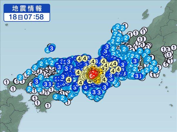 618地震画像