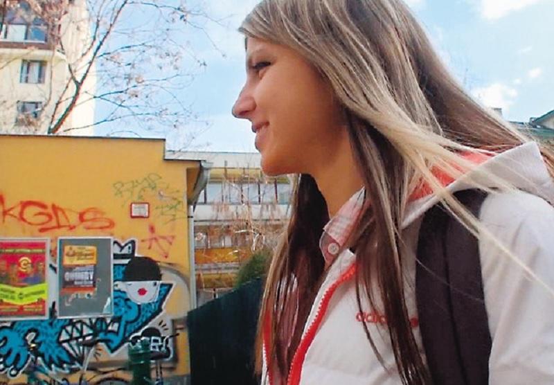 【日本男児 vs ロシアの美妖精】ロシアの妖精とまで言われるロリ系の金髪白人美少女に禁断のアナルを責めまくったうえ大量中出しアクメSEX !【ジーナ・ガーソン】