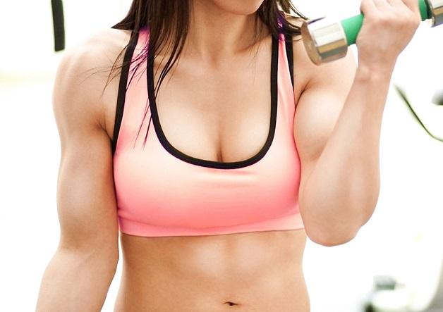 女子マッチョ!元プロアスリート『沢原佑香』がAVデビュー!筋肉美を持つ筋肉少女が筋肉を存分に活用した濃密セックス