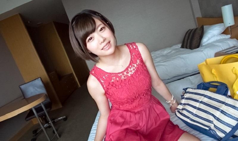 渋谷でショートカットの可愛い美女ゲットし即セックス!喘ぎ声が止まらず何度もイク~を連発!可愛い顔してエッチにはかなり貪欲な美女【さな 21歳 イラストレーター】