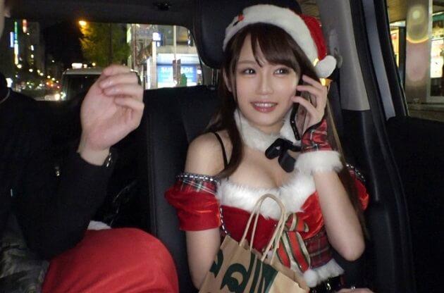 クリスマスナンパ!性なる夜に舞い降りた圧倒的美女♪超カワ敏感体質のエロカワサンタとクリスマスSEX♪
