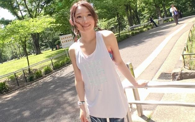 新宿中央公園でジョギング中の美少女に話しかけナンパ!スポーツウェアのままセックスする美少女ってなんかエロいwww