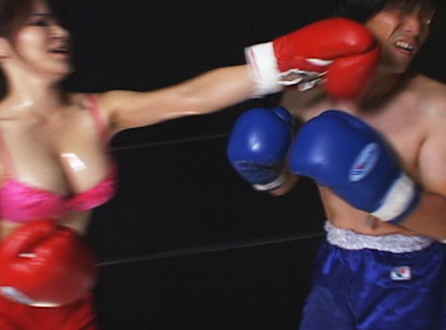 【男女混合ボクシングガチバトル】勝者⇒相手選手を犯す 敗者⇒抵抗せずに勝者から犯されるw【七葉しほり】【主観】