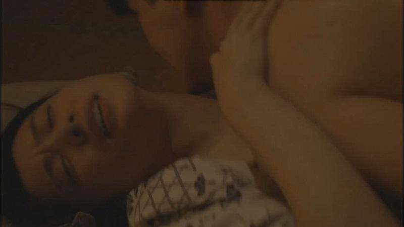 【村川絵梨】だいしゅきホールドかましながらトロいピストンで悶える女優