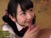 姫川ゆうな 男子の肉棒を教室でフェラ抜きして口内射精で受け止めてあげる制服姿の美少女!