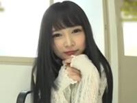 【主観M男センズリ鑑賞】「オナニーしてるとこ ずっと見つめててあげる。」【黒髪ロリ美少女に罵られる!!】跡美しゅり